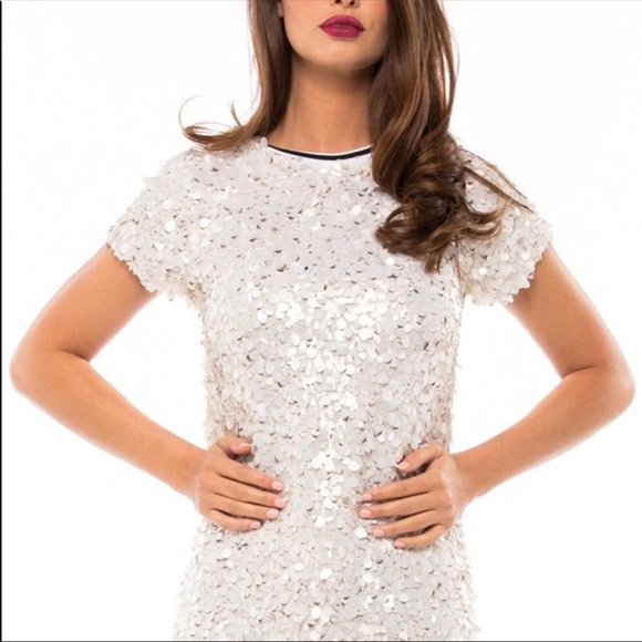 7e311915 MLV Sequin Beaded T-Shirt Dress. M_5b500651b6a9424772c1e6b9
